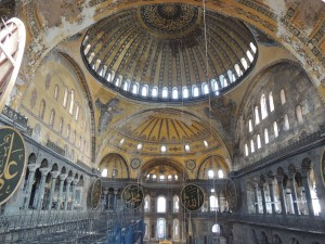 Hagia Sophia former Church - now transformed into a mosque
